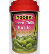 Tooba Green Chilli Pickle 330 Grams