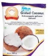 Annam Frozen Grated Coconut 500 Grams