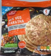 Haldiram's Mix Veg Paratha 4 Pieces