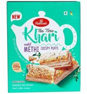 Haldiram's Tea Time Khari Methi Crispy Puffs 200 Grams