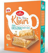 Haldiram's Tea Time Khari Original Crispy Puffs 200 Grams