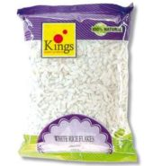 Kings Rice Flakes White Medium (Poha) 500 Grams