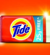 Tide Detergent Bar Soap 125 Grams