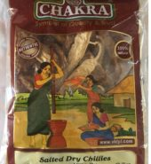 Chakra Salted Dry Chillies 100 Grams