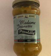 Madame Jeanette Piccalilly Spicy Pickle Sauce Hot 290 Ml