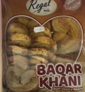 Regal Bakery Baqar Khani Puff Pastry Hearts 350 Grams