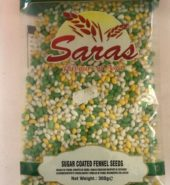 Saras Sugar Coated Fennel Seeds 300 Grams