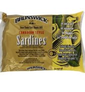 Brunswick Canadian Style Sardines in Soya oil 100 Grams