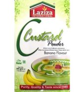 Laziza Custard Powder – Banana Flavour 300 Grams