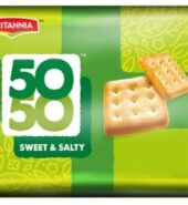 Britannia 50-50 Sweet & Salty 372 Grams