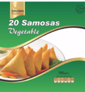 Crown vegetable samosa (20 pieces)