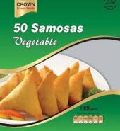 Crown samosa vegetable (50 pieces)